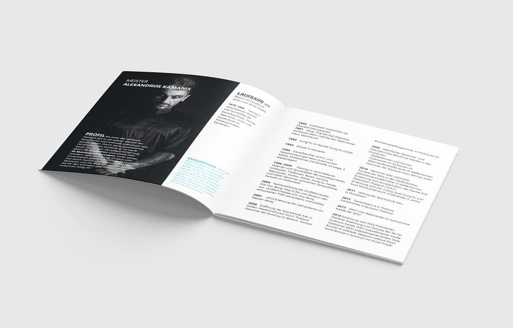 Broschüren Design
