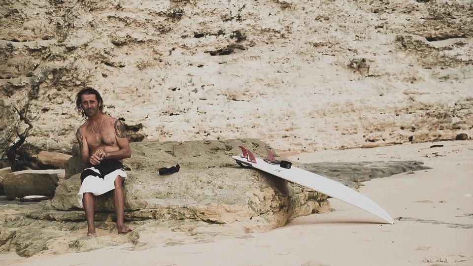 Bali Surfer Travel Photography