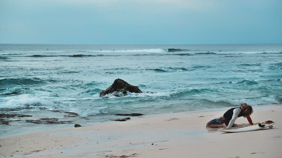 Bali Surfer Travel reportage Photography